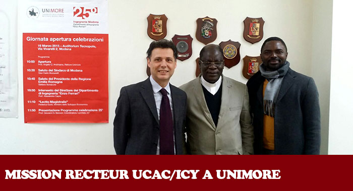 UCAC/ICY A UNIMORE (ITALIE)