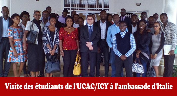 Visite à l'ambassade d'Italie