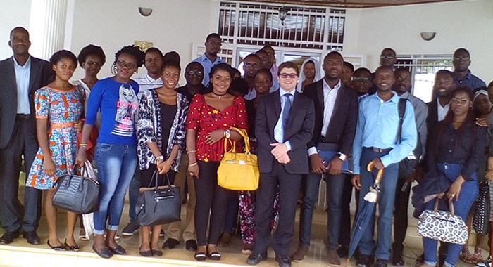 Visite-étudiants-de-UCACICY-ambassade-d-Italie-au-cameroun
