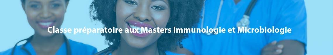 Classe préparatoire aux Masters Immunologie et Microbiologie