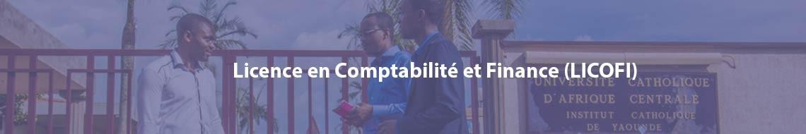 Licence en Comptabilité et Finance (LICOFI)