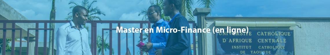 Master en Micro-Finance (en ligne)