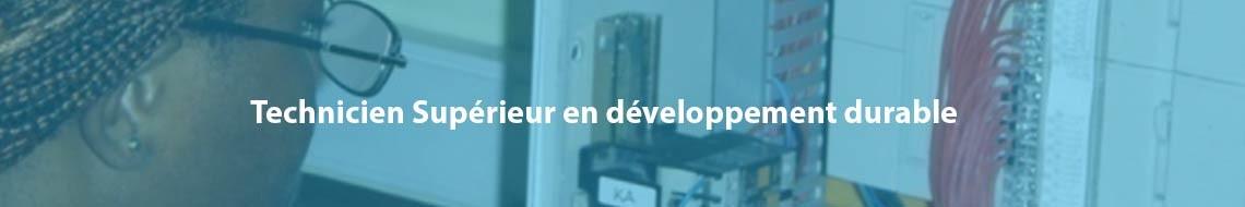 Technicien Supérieur en développement durable