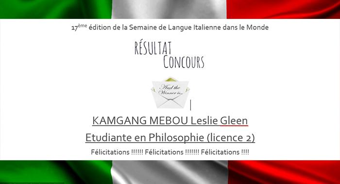 Résultat concours de langue UCAC
