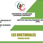 Programme de la première édition des « Doctoriales »