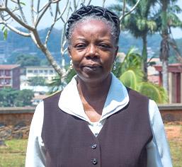 Dr Pulchérie AMOUGUI, Doyen