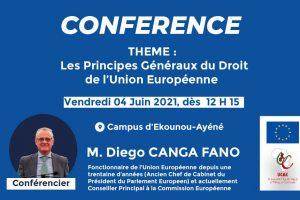 1ère Conférence publique sur l'Union Européenne