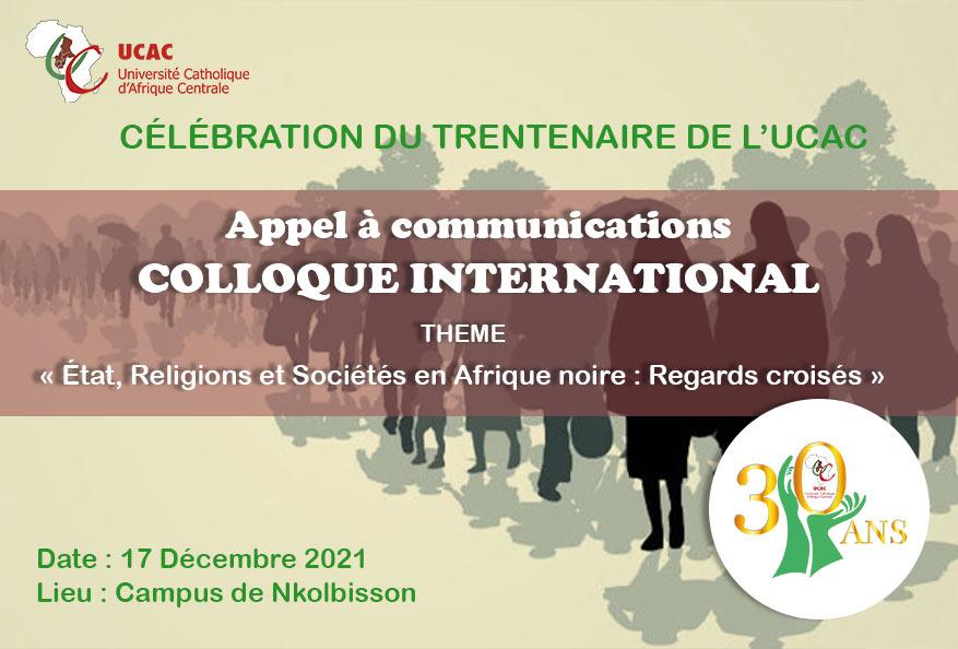 Colloque international Appel à communications