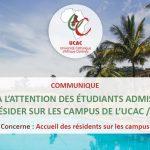 COMMUNIQUE-a-l'attention-des-étudiants-admis-à-résider-sur-les-campus-de-l'UCAC