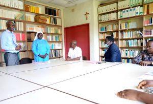 Cérémonie de passation de service au département de droit canonique