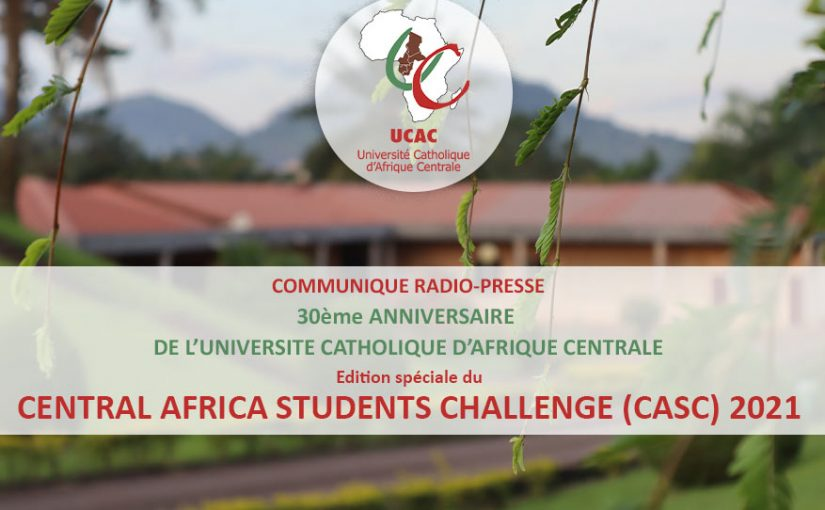 CENTRAL AFRICA STUDENTS CHALLENGE (CASC) 2021