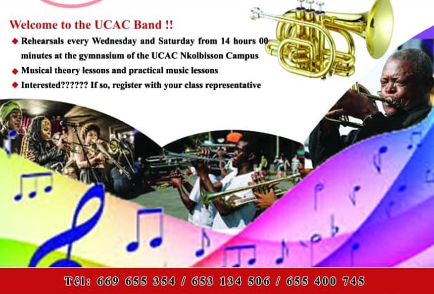 Renaissance de la fanfare de l'Université Catholique d'Afrique Centrale